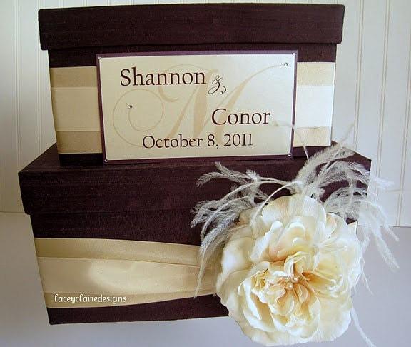 Card Box For Wedding: Money Card Box Wedding Card Box Custom Made Money Card Holder