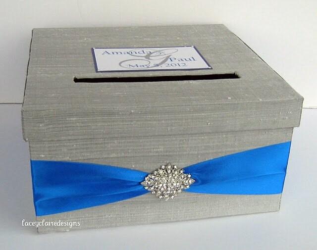 Wedding Gift Box Holder: Wedding Card Box Gift Card Holder Custom Made To Order