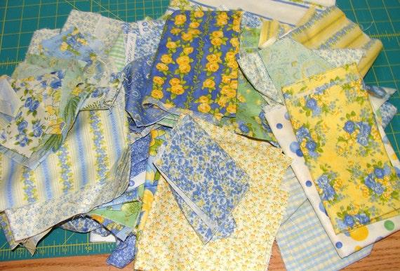 Scrap Bag Box April Cornell Sunshine fabrics