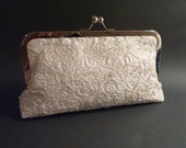 Bridal Clutch YOUR FABRIC or HEIRLOOM Dress Fabric Customize your Clutch