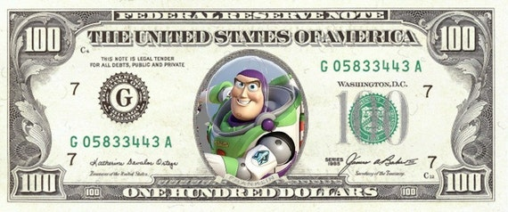 Play Money Toy : Toy story play money