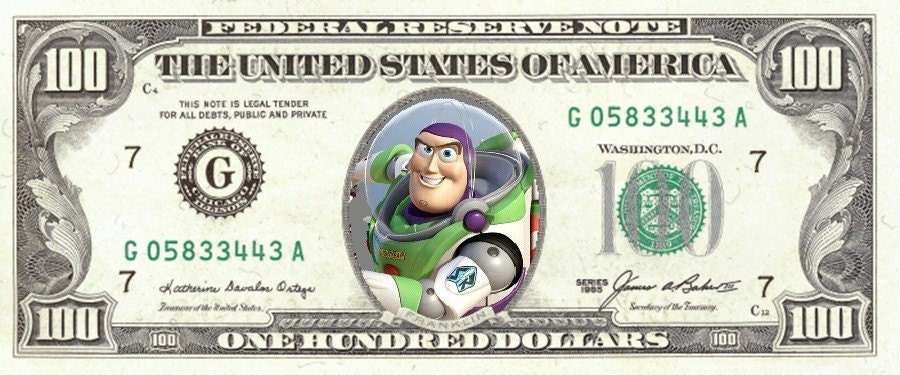Toy Story Money Money Money : Toy story play money