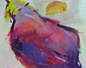 The Aubergine Original Abstract Painting on canvas