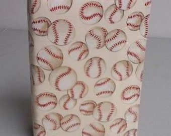 Baseball Fabric Covered Photo Album