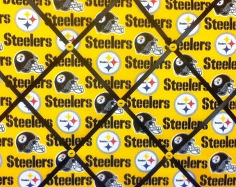 Yellow Pittsburgh Steelers Photo Memo Board