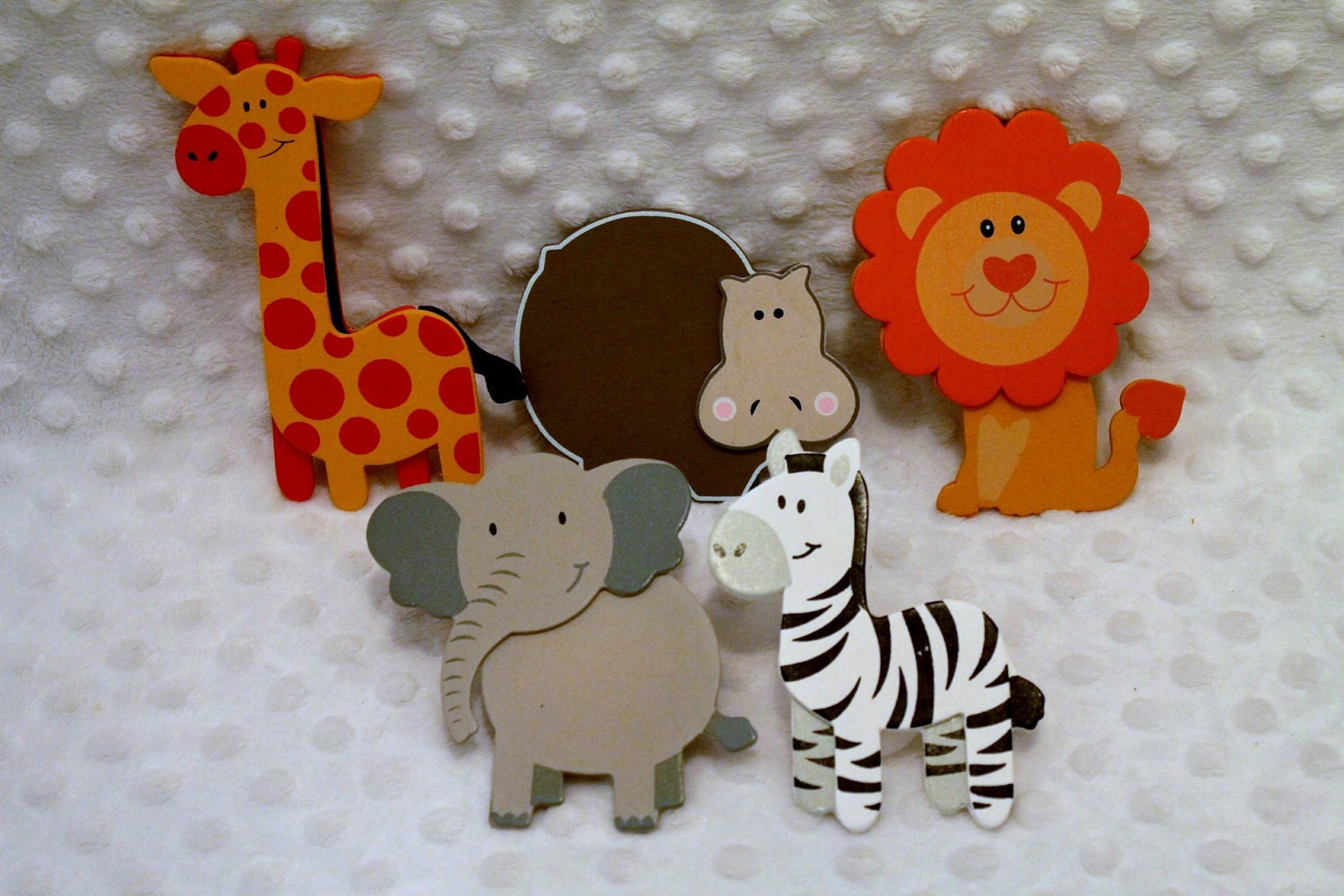 Decorative Outlet Socket Covers Jungle Zoo Animals Baby And