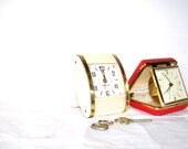 Travel Back in TIme Clock Collection Retro Mad Men Glamour Travel Accessories