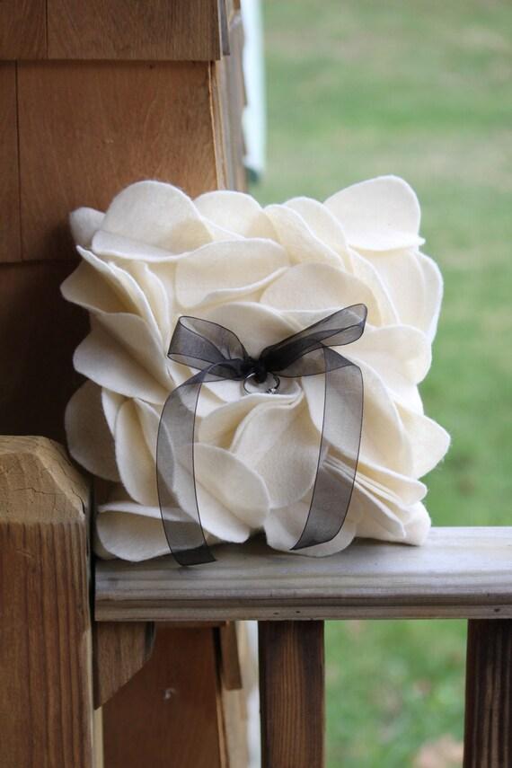 Petal Ring Bearer Pillow
