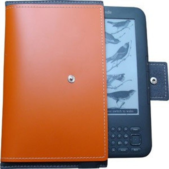 Eco-Chic Leather Case for: Kindle 3 and Samsung Galaxy Tablet  2 (7-Inch) - (does not fit Kindle Touch or Kindle Keyboard)- Free Shipping