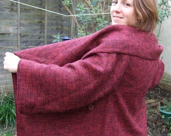 Cosy red jacket...