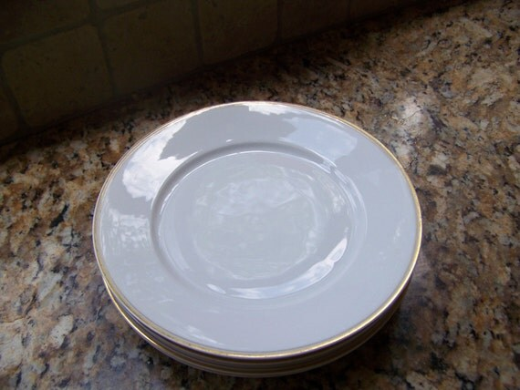 Items Similar To SALE Hutschenreuther China Dinner Plates Handpainted Se