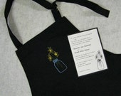 Wedding Embroidered Aprons to match your wedding inivite