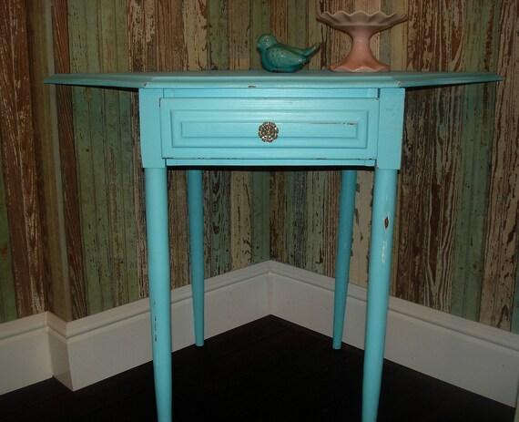 Blue Corner Table Reserved for Maura
