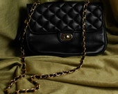 Vintage Black Chain Purse