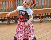 Elmo Boutique Dress - Available in sizes 2T to 6