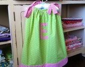 Toddler Sewing Pattern - Pillowcase Dress - Baby Toddler Children - Sizes 3M to 6Y
