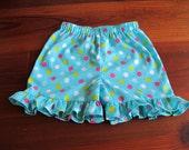 Ruffle Shorts Pattern - Baby Toddler Children
