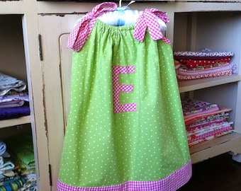Dress Pattern - Pillowcase Dress - Baby Toddler Children - Sizes 3M to 6Y