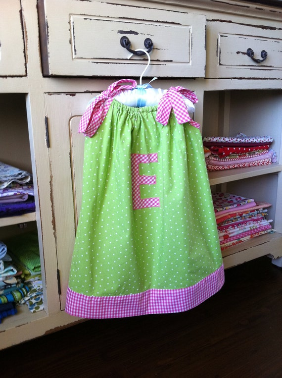 Pillowcase Dress Pattern - Baby Toddler Children - Sizes 3M to 6Y