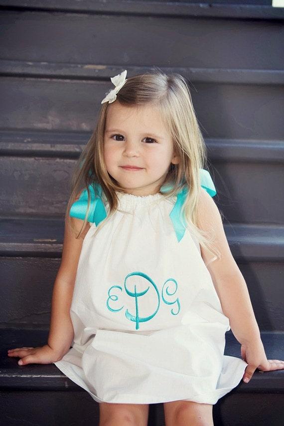 Ribbon Pillowcase Dress / Top Pattern - Baby Toddler Children - Sizes 1 to 6