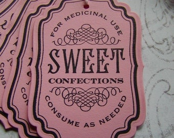 Sweet Candy Confections Tags (6)
