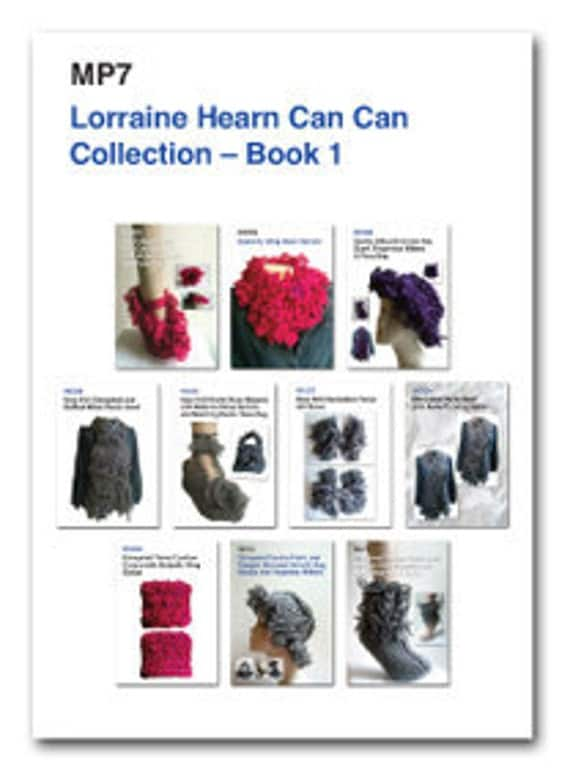 Lorraine Hearn Can Can Collection E Book 1.  21 Fun designs see free pattern promotion in description.