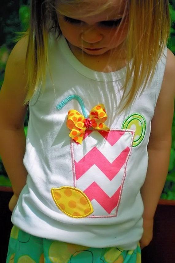 Pink lemonade summer crop pants tank and hair piece