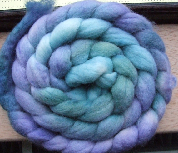 DRAGON'S WING- 126g Hand Dyed Merino Tops