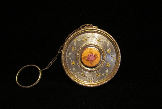 1920 S Compact Purse May Fair Silver Amp Gold By