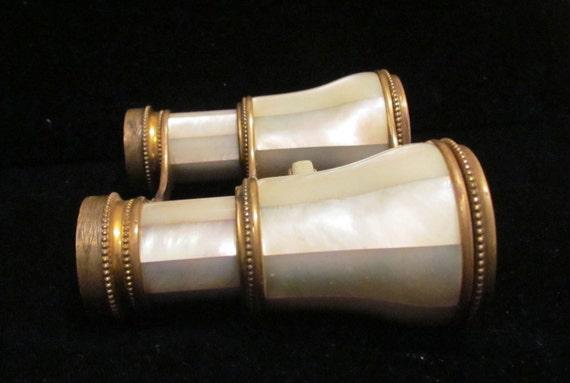 1800's Opera Glasses Lemaire Fi Mother Of Pearl Vintage Binoculars Theater Glasses Paris Opera Glasses Antique Glasses French Opera Glasses