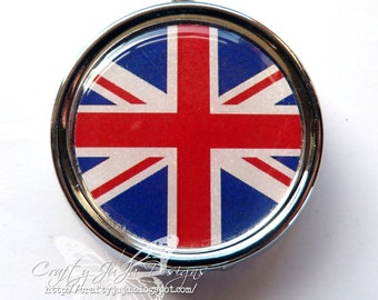 Union Jack Pill Box