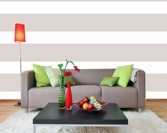 "STRIPE Wall Decal / 10"" / wall stripes, wall decal stripes, wall decals living room, wall decals for bedroom, wall decals for teens"