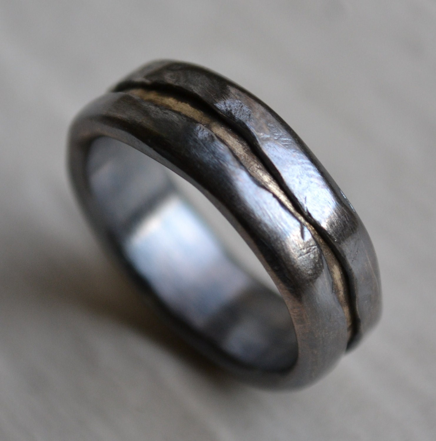 reserved for mens wedding band rustic