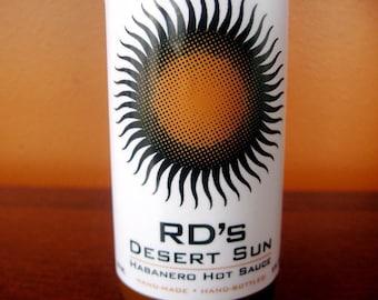 Desert Sun Habanero Hot Sauce - 5 oz.