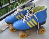 vintage Roller Skates -- Colt size 6 - 8