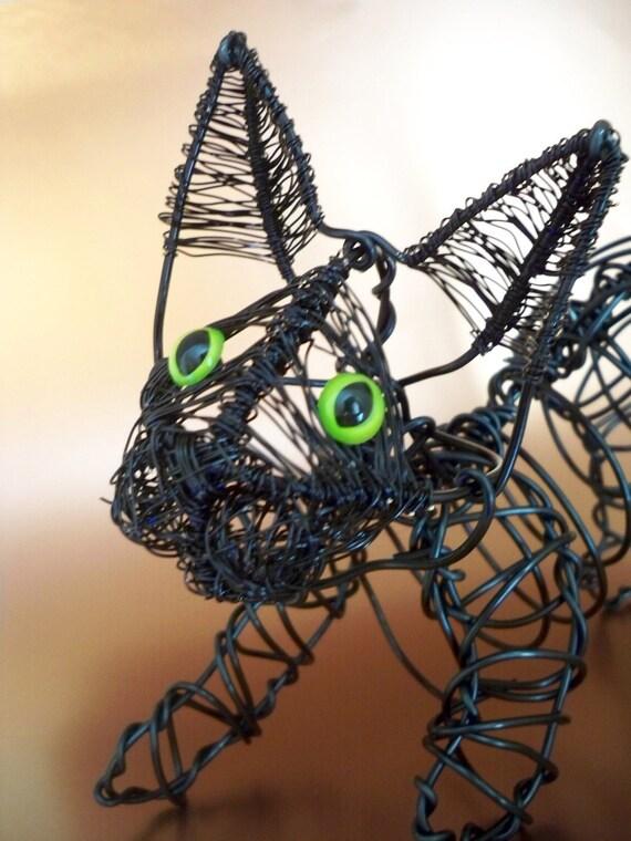 Life Size Kitten Sculpture OOAK