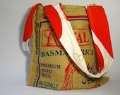 Basmati Rice Bag - Orange
