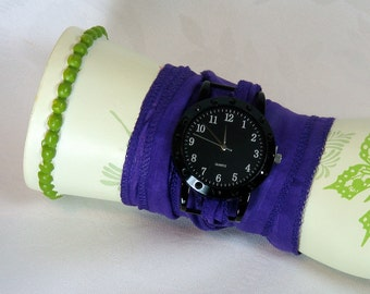 Silk Wrap Bracelet Watch Jewelry Wrapped Wrist Wrap SALE