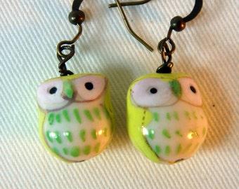 Little Owl Earrings