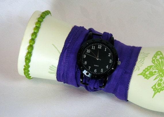 Silk Wrap Bracelet Watch Jewelry Wrapped Wrist Wrap SALE