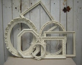 Vintage Chippy Frame Collection - Cottage White Ivory