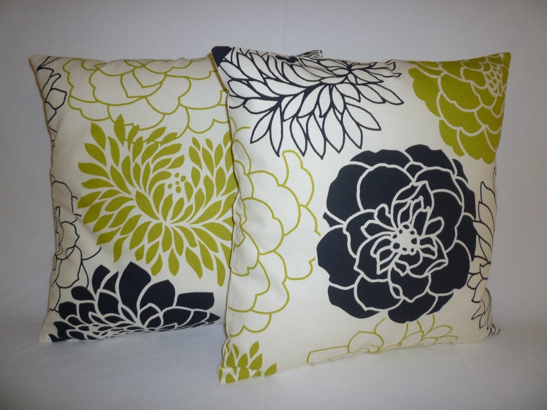 cushion covers lime green black white funky retro pillowcases. Black Bedroom Furniture Sets. Home Design Ideas