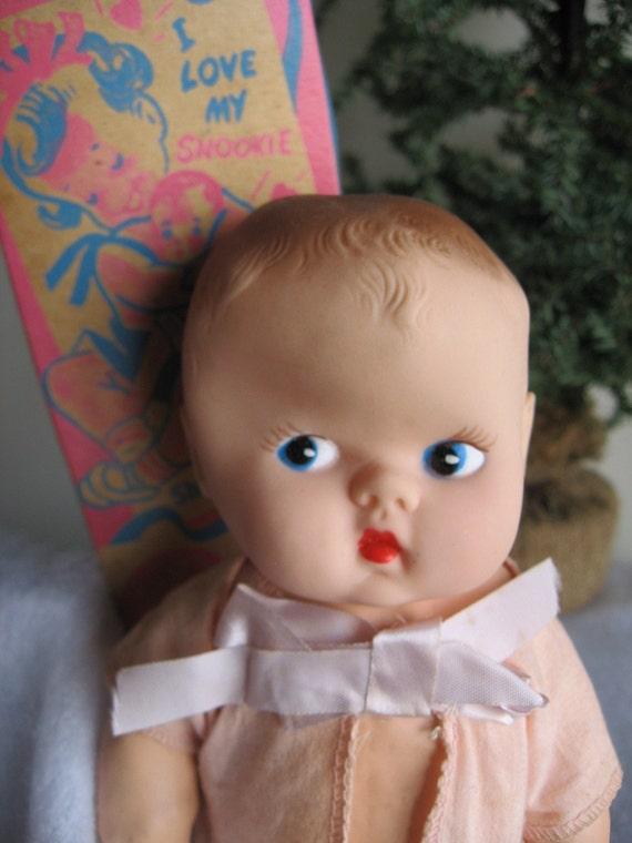 "Vintage 1950's Ideal ""SNOOKIE"" Doll in Original Box"