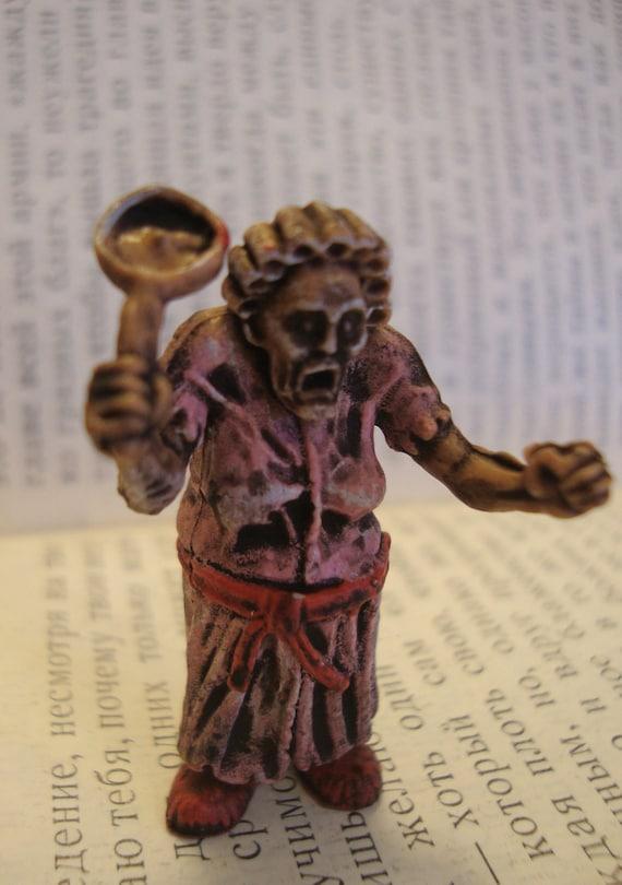 Zombie Granny Brooch Pin