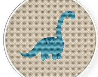 INSTANT DOWNLOAD,Free shipping,Cross stitch pattern, Cross-StitchPDF,cute dinosaur,zxxc0182
