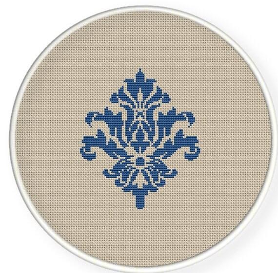 Instant download,free shipping,Cross stitch pattern, PDF,Flower pattern ,ZXXC0166