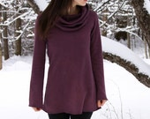 Everyday Fleece Cowl Tunic- Mountain Range
