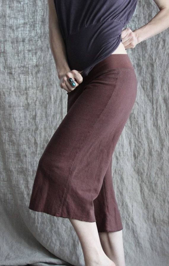 Field Cropped Pants- Organic Hemp and Cotton