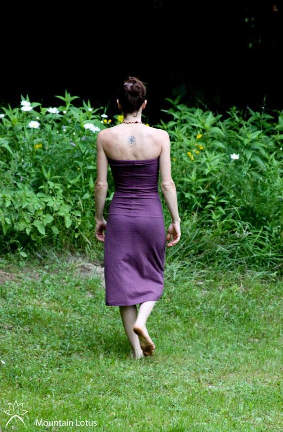 Organic Hemp and Cotton Siren Dress/Skirt- Below Knee Length