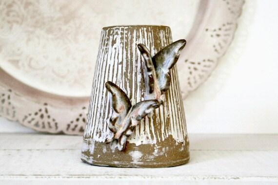 Whitewashed Toasted Pearl Vase